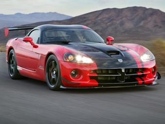 Dodge представил трековую версию Viper SRT-10