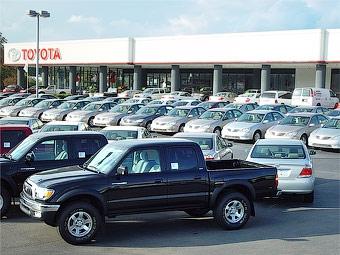 Toyota ожидает 18-процентного падения продаж в 2009 году