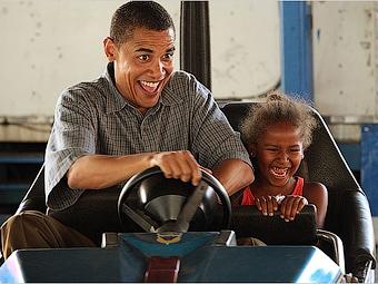 Полицейский не стал штрафовать Обаму за превышение скорости