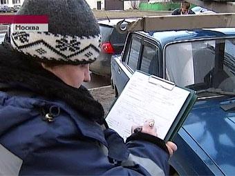 За неделю в Москве обнаружено 550 незаконных парковок
