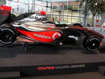 Команда McLaren провела презентацию нового болида