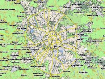 К 2015 году в Москве построят дублеры трех шоссе