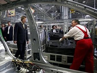 Автозаводы в Словакии остановили производство из-за нехватки газа
