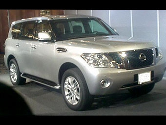 Новый Nissan Patrol получился похожим на Toyota Land Cruiser