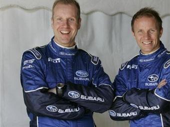 Петтер Сольберг обсудил с руководством Subaru перспективы на 2009 год