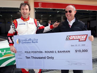 Хайнц-Харальд Френтцен выиграл поул-позицию второго этапа Speedcar Series