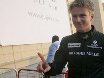 Нико Хюлькенберг впервые выиграл квалификацию GP2