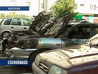 В Москве нашли 49 поджигателей автомобилей