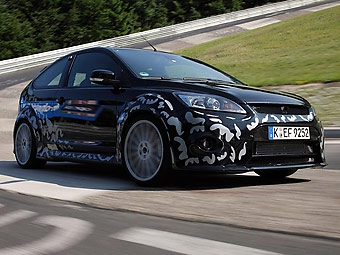 Ford раскрыл детали о новом Focus RS