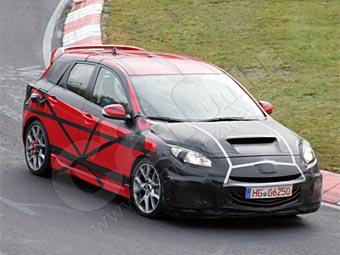 "Фотошпионы ""поймали"" на Нюрбургринге новую Mazda3 MPS"