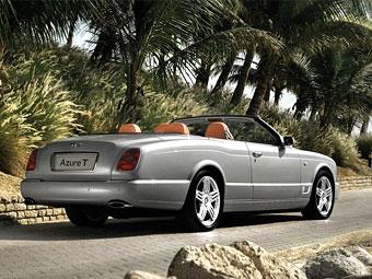 Компания Bentley представила 500-сильный кабриолет