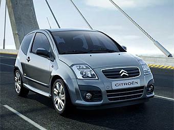 Citroen C2 и C3 стали дешевле на 25 тысяч рублей