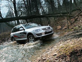 Выпуск VW Touareg в России начнется в апреле 2009 года
