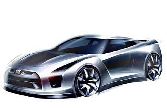 Прототип нового Nissan Skyline GT-R покажут в Токио