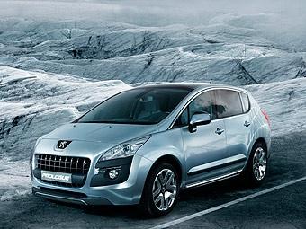 Peugeot покажет в Париже новый гибрид Prologue