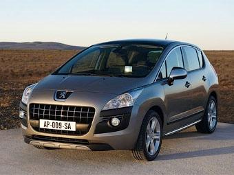 Компания Peugeot официально представила кроссовер 3008