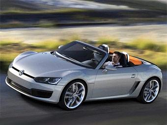 Volkswagen привез в Детройт среднемоторный дизельный родстер