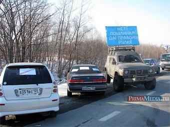 Сенатор Вячеслав Фетисов донесет до Москвы требования водителей о снижении пошлин