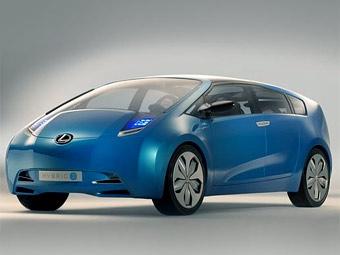 """В Детройте Lexus покажет """"гибрид"""" на базе Toyota Prius"""