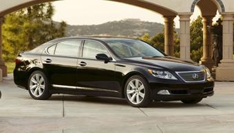 Lexus LS 600h будет стоить в России 181 тысячу долларов