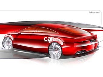 """Audi представила первое изображение нового """"четырехдверного купе"""""""