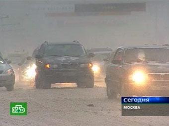 Московские дорожные службы готовятся к гололеду