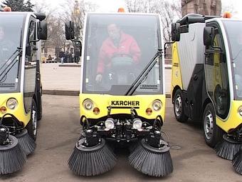 Зимой в Москве будут пылесосить дороги
