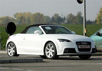 "Фотошпионы ""поймали"" Audi TT-S на Нюрбургринге"