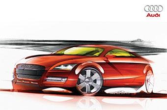 Audi TT RS проходит дорожные тесты