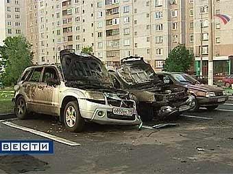 В 2008 году в Москве вывезено пять тысяч бесхозных машин