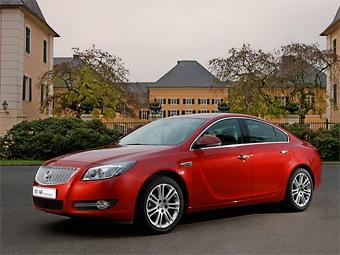 Opel Insignia превратилась в китайский Buick Regal