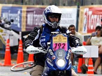 """Установлена причина смерти французского мотоциклиста на ралли """"Дакар-2009"""""""