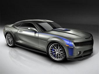 """Американские тюнеры """"скрестили"""" Chevrolet Camaro и Corvette ZR1"""