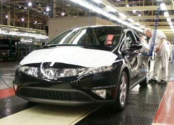 Honda наймет 700 новых рабочих в Великобритании