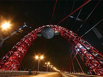 Движение по Живописному мосту будут ограничивать до 2012 года