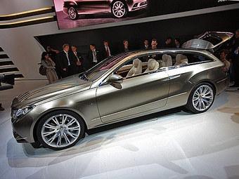 Mercedes-Benz показал в Париже концепт Fascination на базе нового E-Class
