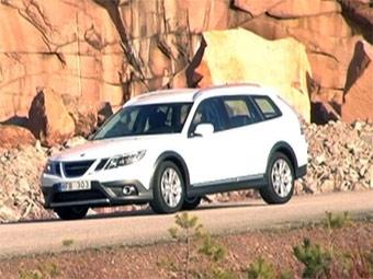 Новый кроссовер Saab построят на базе универсала 9-3