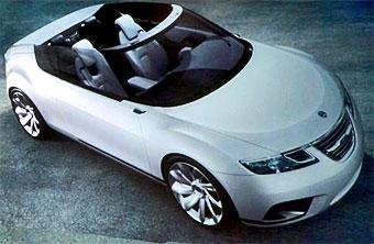 Saab подготовил к Парижу открытую версию концепт-кара 9-X