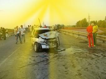 Водитель пикапа совершил аварию по велению Бога