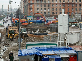 Тоннель под Ленинградкой начнут рыть на следующей неделе