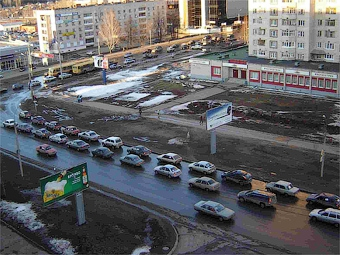 В России прошли акции протеста автомобилистов