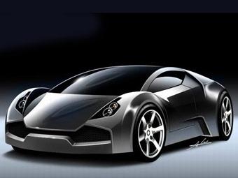 Дизайнер Mercedes SLR McLaren разрабатывает свой спорткар