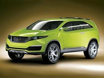 Kia покажет новый кроссовер и Sorento второго поколения в 2009 году