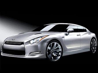 На базе Nissan GT-R построят новый седан и внедорожник Infiniti