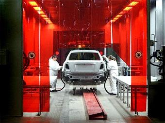 В декабре производство машин в России снизилось на 16,7 процента
