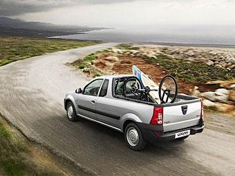 """Renault будет продавать в Европе пикапы и фургоны на базе """"Логана"""""""