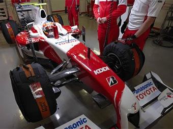 FIA подтвердила легальность заднего диффузора команды Toyota