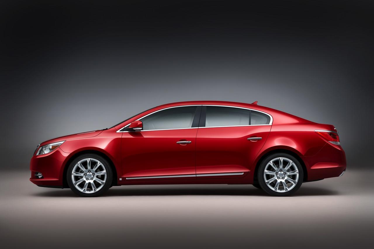 Новый Buick LaCrosse получил полный привод Haldex