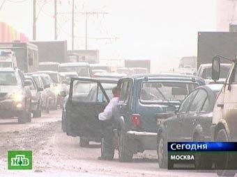 В Москве 26 ноября ожидается сильная гололедица
