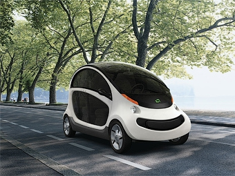 Chrysler представил городской электромобиль